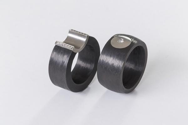 Ringe aus Carbon